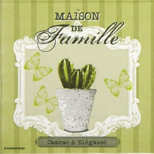 Lunch Napkins (20) - Cactus charme