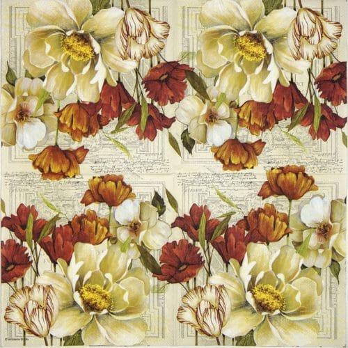Paper Napkin - Coralie
