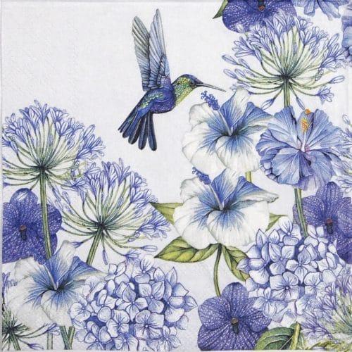 Lunch Napkins (20) - Hummingbird