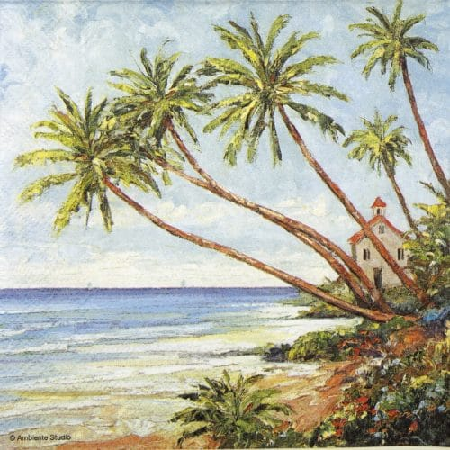 Lunch Napkins (20) - Palm beach