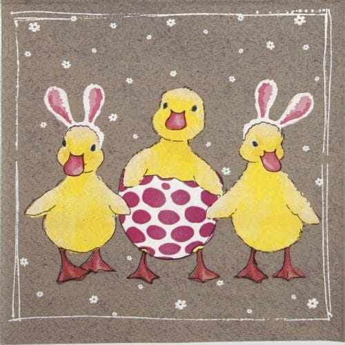 Lunch Napkins (20) - Funny Ducklings