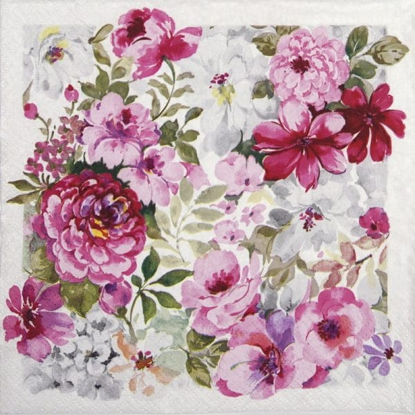 Lunch Napkins (20) - Grand Flourishing