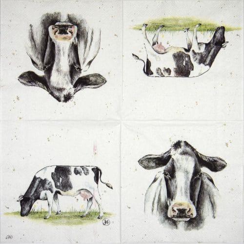 Paper Napkin - Farmfriends cow
