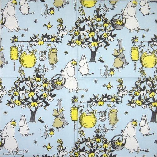 Paper Napkin -  Moomin Jubilee