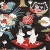 Paper Napkin -  Moomin Magic black