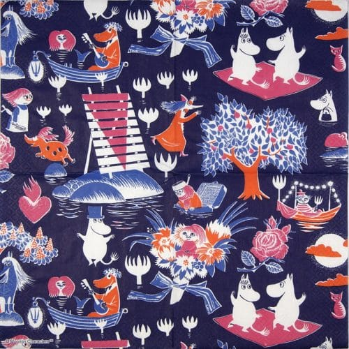 Lunch Napkins (20) - Moomin Magic