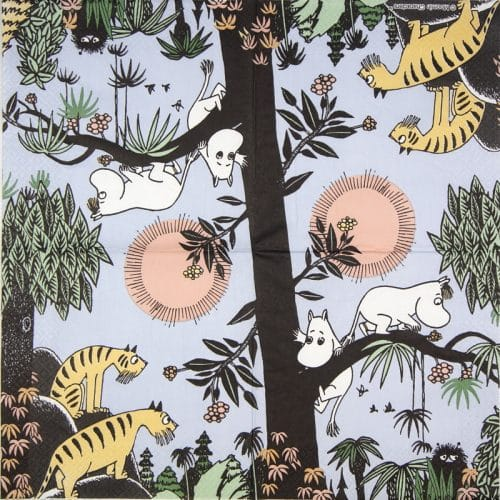 Paper Napkin -  Moomin Jungle