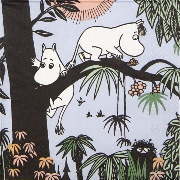 Lunch Napkins (20) - Moomin Jungle