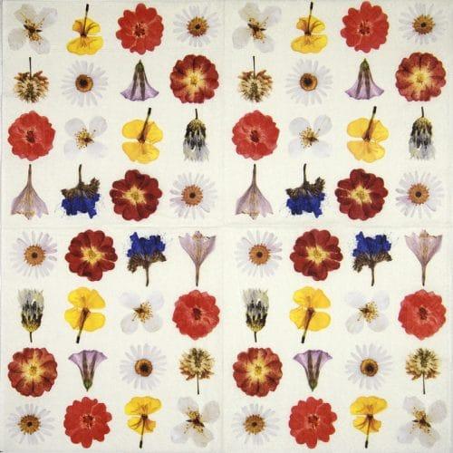 Paper Napkin - Dried flowers