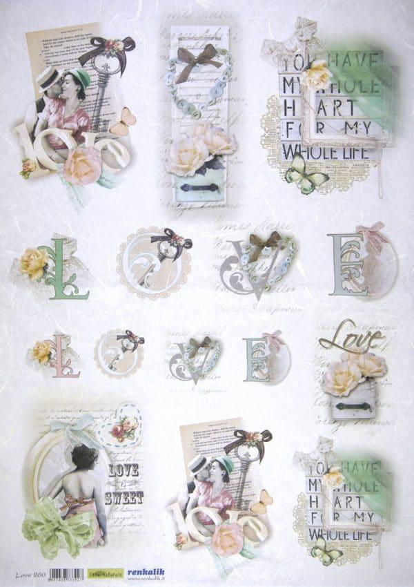 Rice Paper - Love