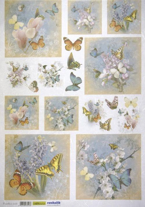 Rice Paper - Butterflies