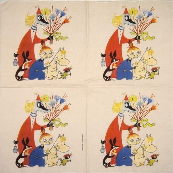 Paper Napkin -  Moomin Easter