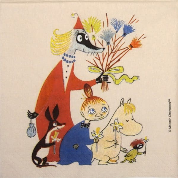 Lunch Napkins (20) - Moomin Easter