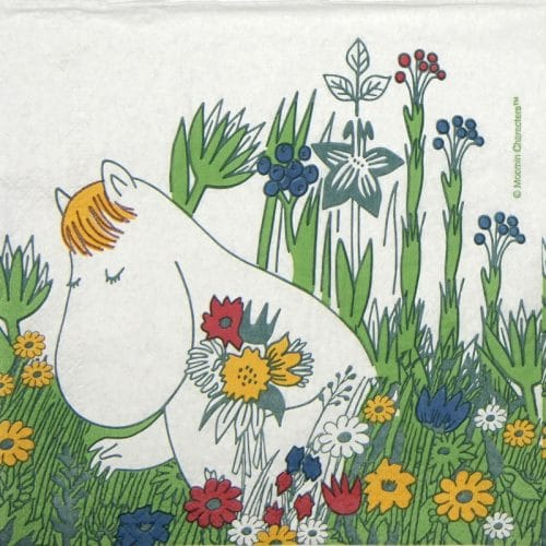 Lunch Napkins (20) - Moomin Snorkmaiden summer