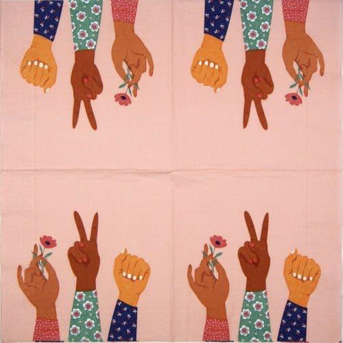 Paper Napkin - Peace