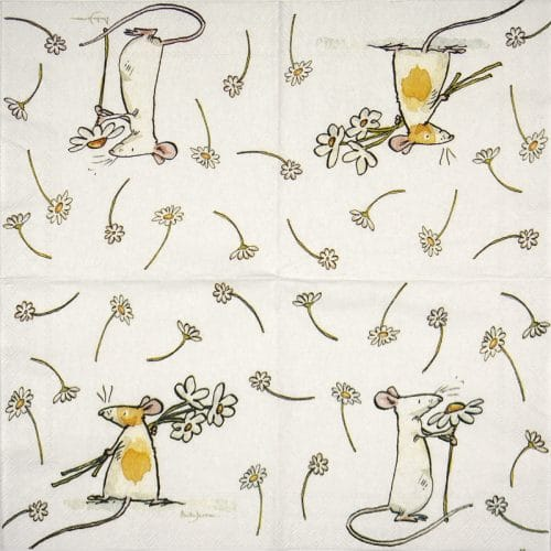 Paper Napkin - Anita Jeram: Daisy For you