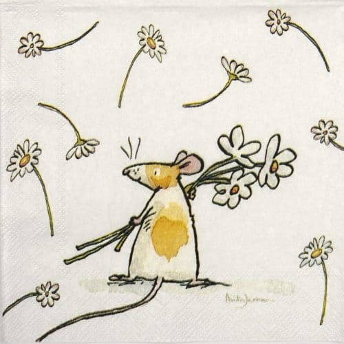 Cocktail Napkins (20) - Anita Jeram: Daisy For you