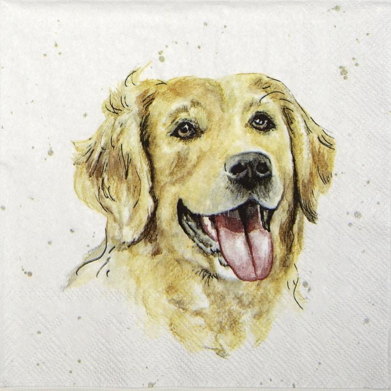 Lunch Napkins (20) - Farmfriends Dog