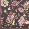 Lunch Napkins (20) - Wallpaper with roses claret