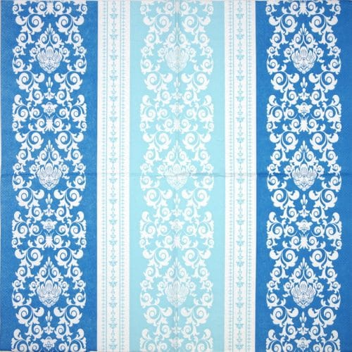 Paper Napkin - Pascal blue