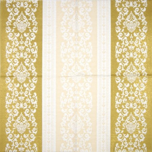 Paper Napkin - Pascal gold