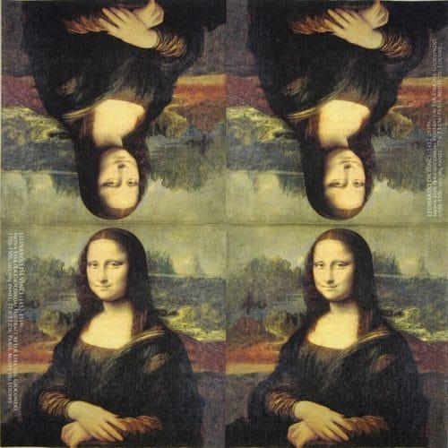 Paper Napkin - Alamy: Mona Lisa