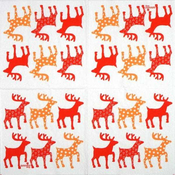 Paper Napkin - Anneko Design: Moose