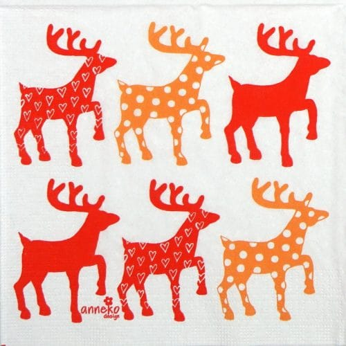 Paper Napkin - Anneko Design: Moose (Copy)