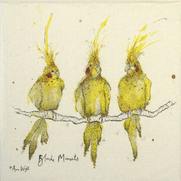 Paper Napkin - Anna Wright: Blonde Momnents