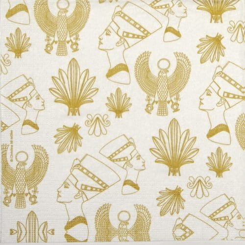 Paper Napkin - Christine BB Müller: Gold Egypt