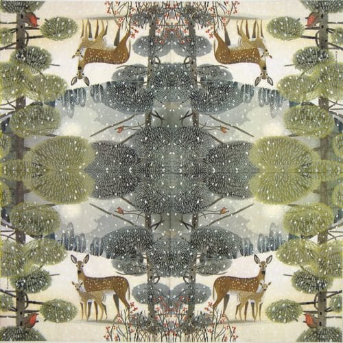 Lunch Napkins (20)-  Jane Newland: Holiday Meadow