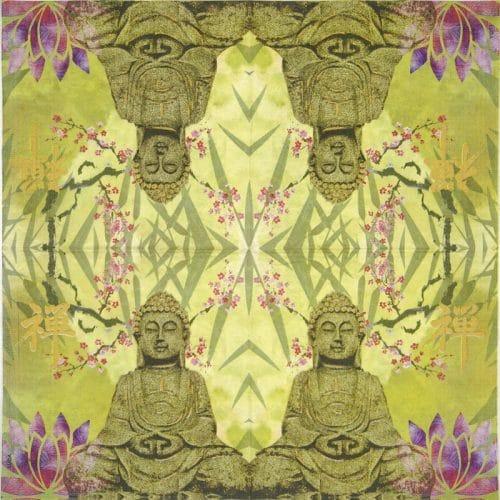 Paper Napkin - Luca Bassi: Keep calm