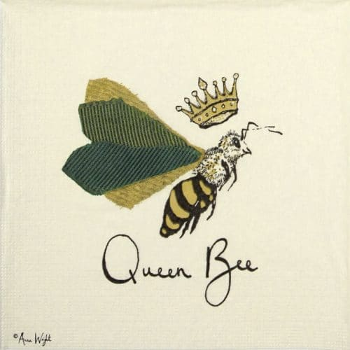 Paper Napkin - Anna Wright:Queen Bee