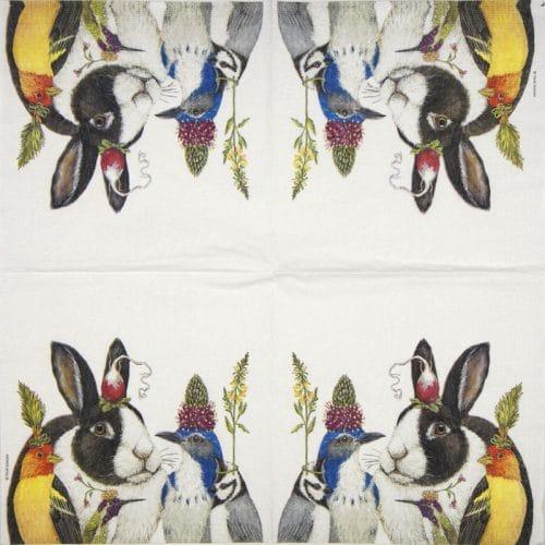 Paper Napkin - Vicki Sawyer: Simply Radishing