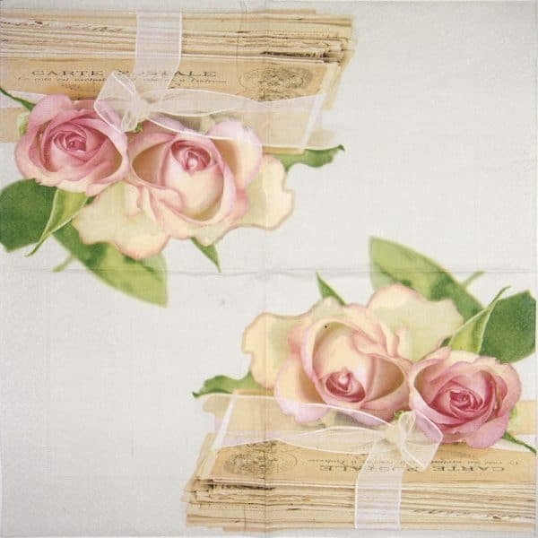 Paper Napkin - Love Letters