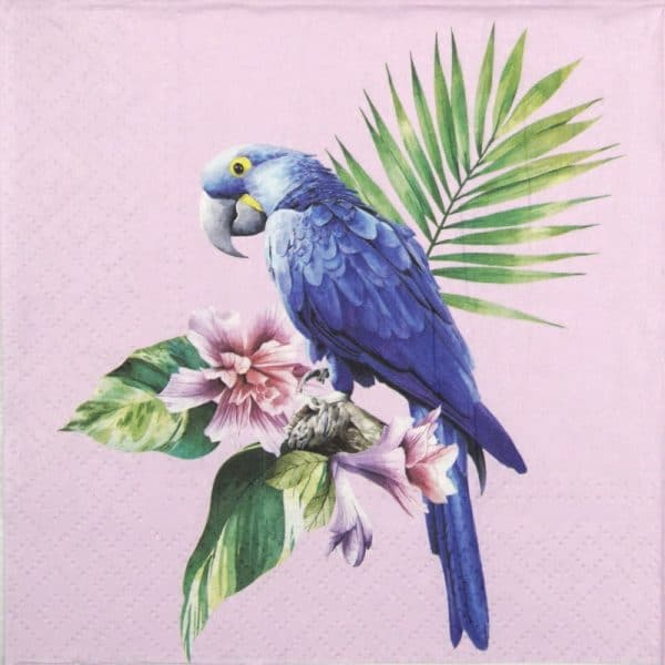 Lunch Napkins (20) - Exotic Parrot