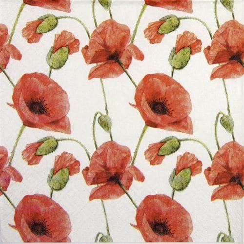 Lunch Napkins (20) - Papaver