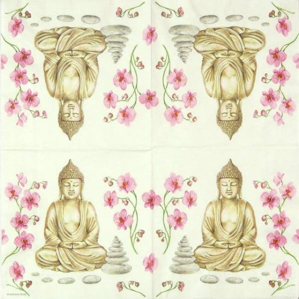 Paper Napkin - Buddha