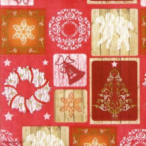 Paper Napkin - X-mas Images