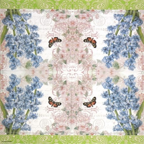 Paper Napkin - Hyacinth