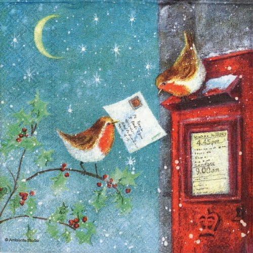 Paper Napkin - Mailbox