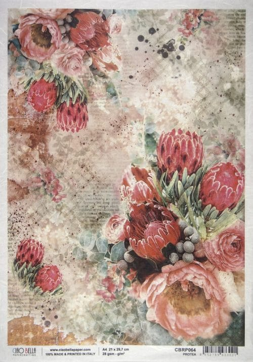 Rice Paper - Protea
