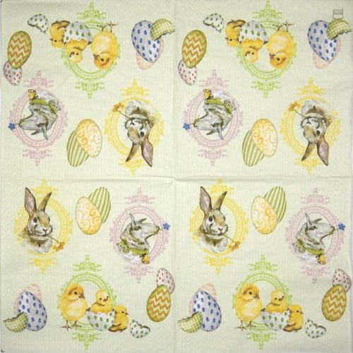 Paper Napkin - Easter mix