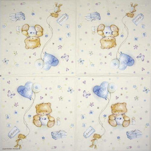 Paper Napkin - Baby Boy