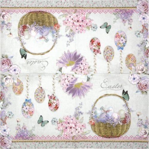 Paper Napkin - Pastel Easter