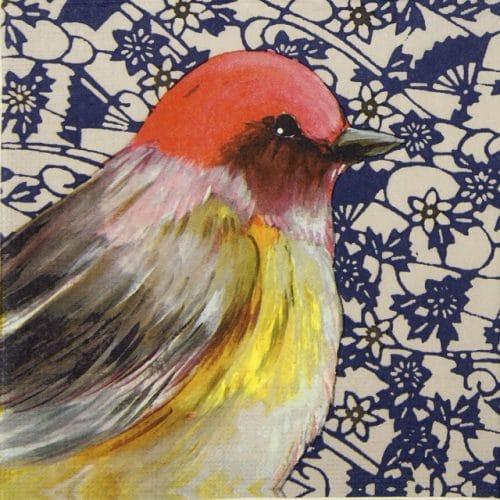 Lunch Napkins (20) - Sophie Adde: Joli Oiseau