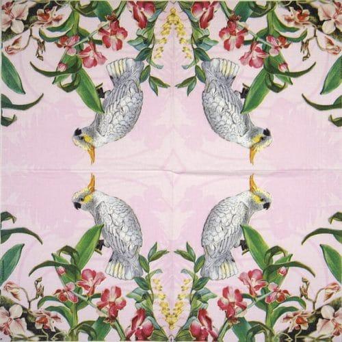 Paper Napkin - Adriana Sanmartin: Kakadu