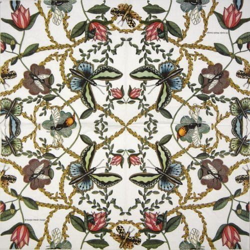 Paper Napkin - Nadja Wedin: Bugs & Butterflies