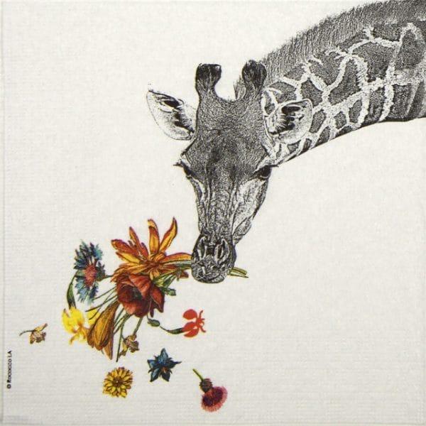 Lunch Napkins (20) - Rococco: Happy Giraffe