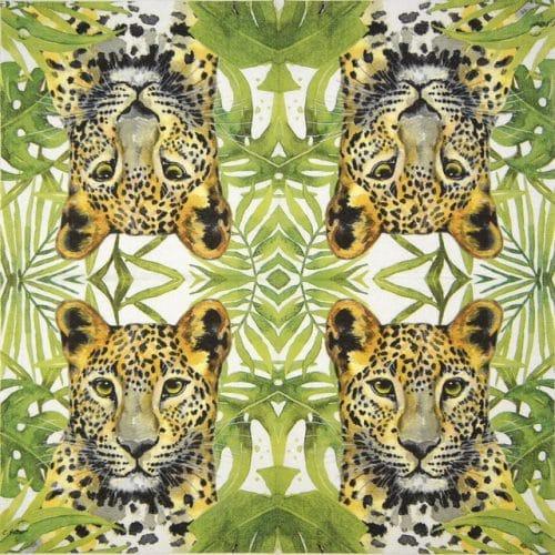 Paper Napkin - Carola Pabst: Tropical Leo